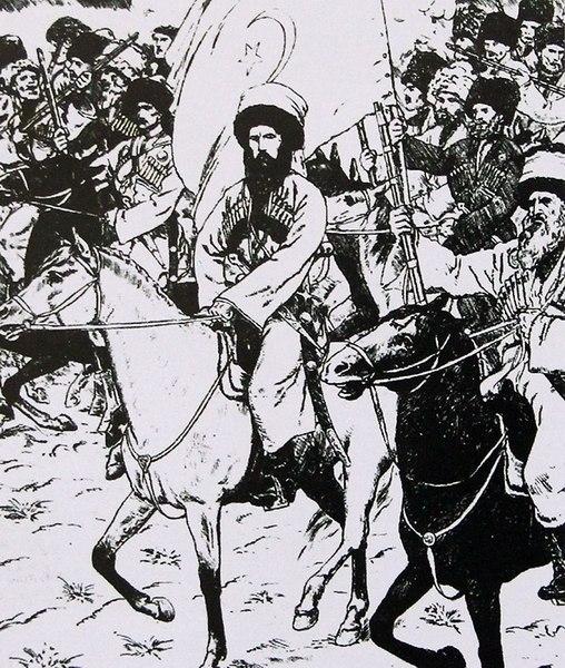 Целью Магомет-Амина на Кавказе
