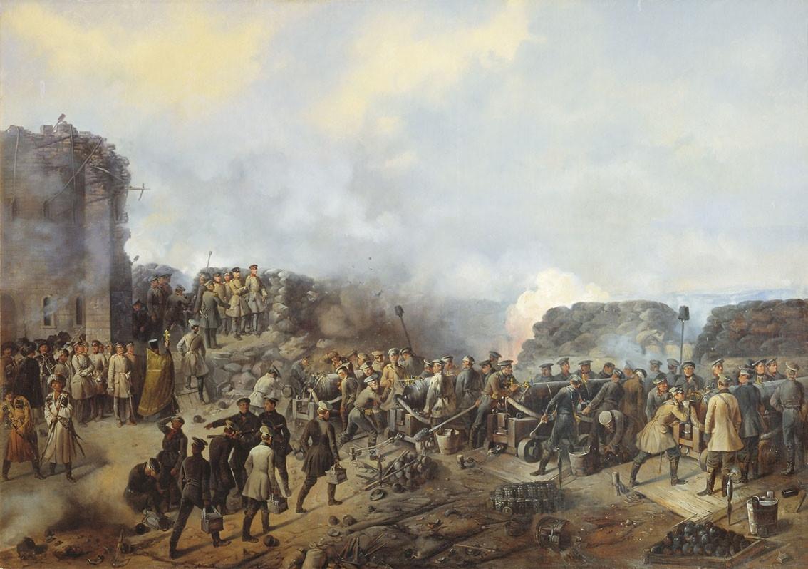 Горцы поставляли продовольствие для войск союзников во время Крымской войны