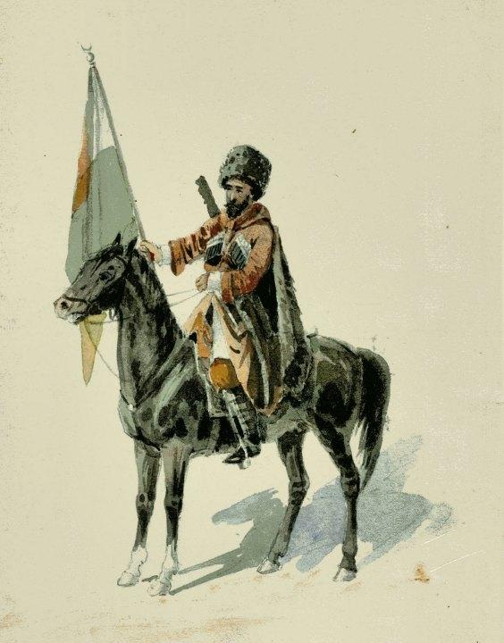 Казичери - известный политический и военный деятель Черкесии