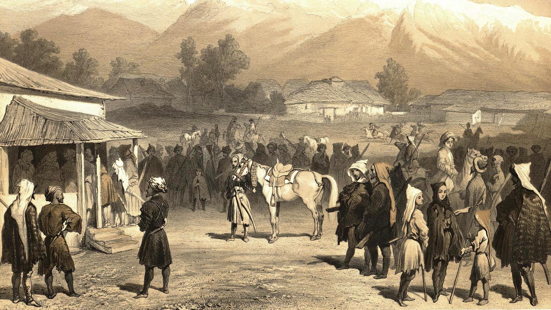 Кто же такие черкесы и как они жили?