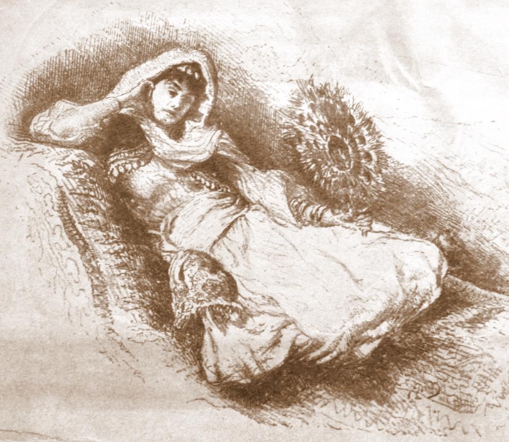 Несрин (Нешерек) Кадын Эфенди - Пятая жена османского султана Абдул-Азиза