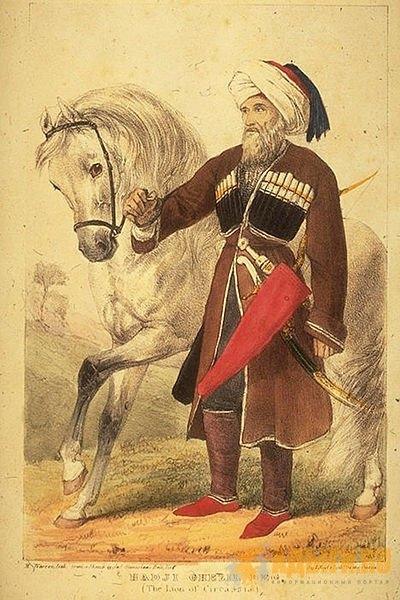 Легендарный предводитель адыгов в борьбе Черкесии за независимость