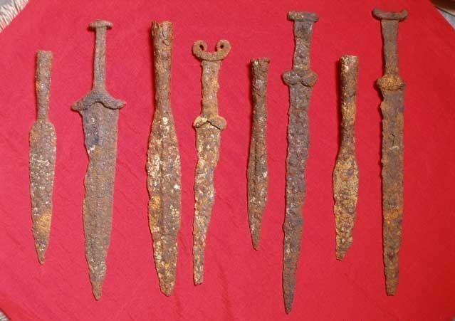 Мечи, копья и стрелы меотов и синдов