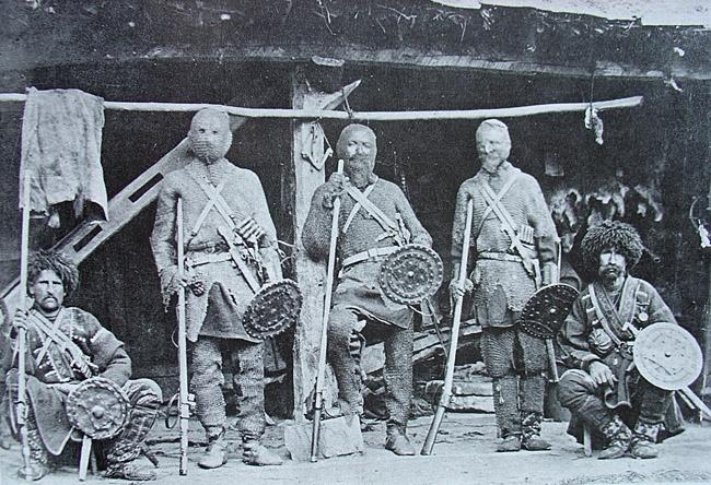 Был ли у черкесов боевой щит?