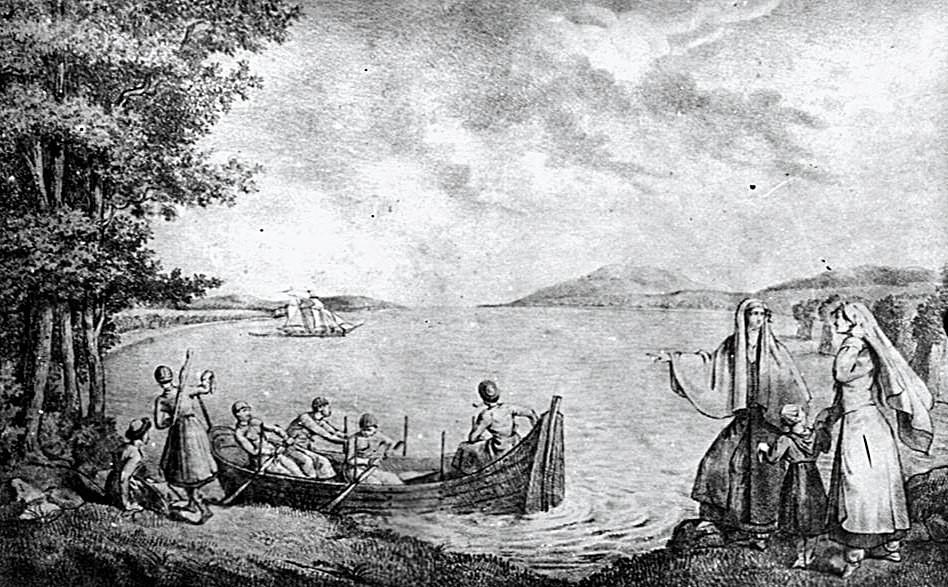 Одним из первых упоминает убыхов в 1798 году путешественник Ян Потоцкий