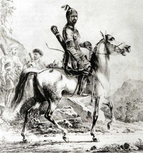 Хаджи Черкес - правитель Астрахани