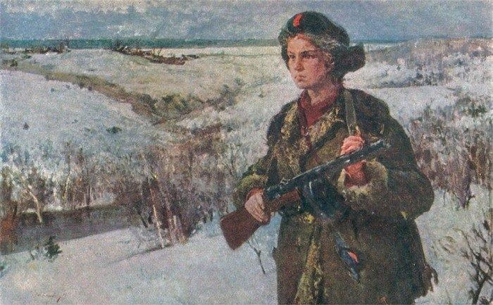 """В 16 лет ушла на войну, а медаль """"За отвагу"""" получила спустя 73 года..."""