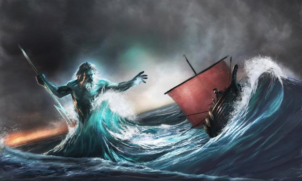 Т-образный крест в черкесской мифологии символизировал бога морей
