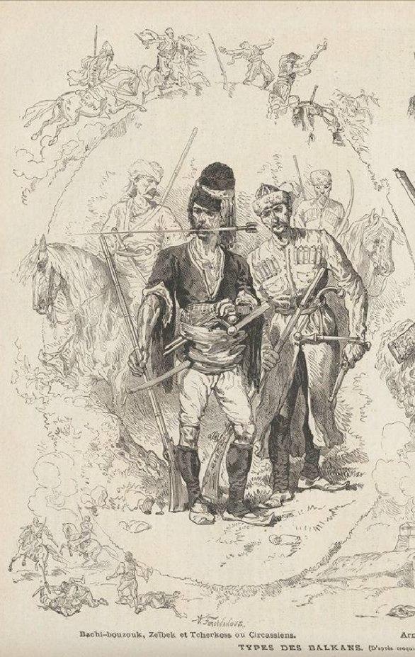 Из черкесов формировалась мамлюкская гвардия султанов