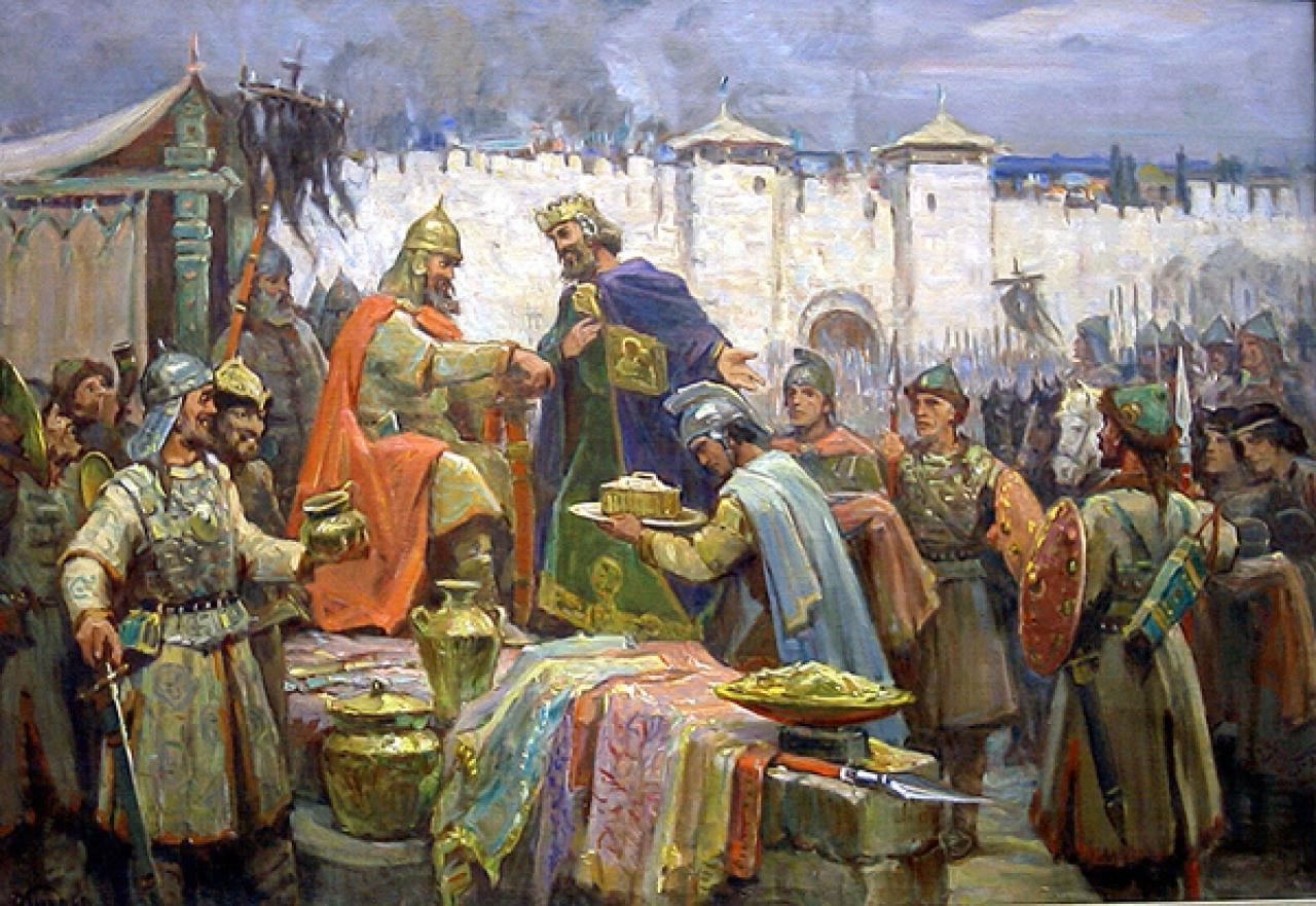 Как черкесы отвоевали города Тамань и Темрюк и другие их подвиги.
