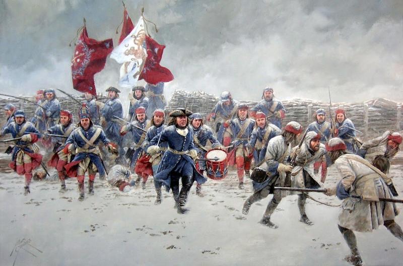 Русский царь призвал кабардинских князей, поддержать его в войне со Швецией