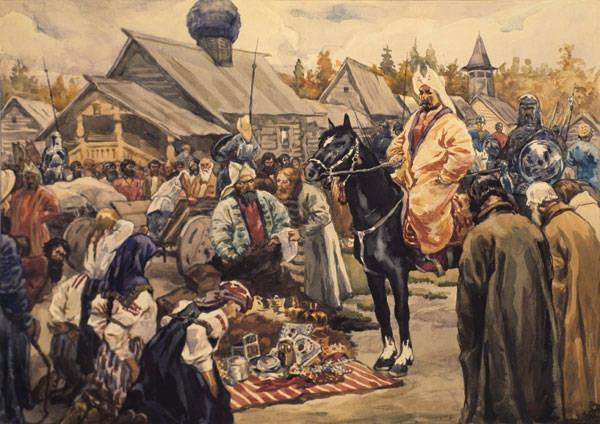 Союз между русскими царями и черкесскими князьями защищал Русь от набегов