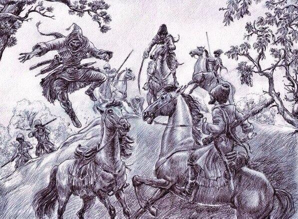 Черкесы не смогли противостоять Крымскому Ханству и Османской Империи на Восточном Приазовье