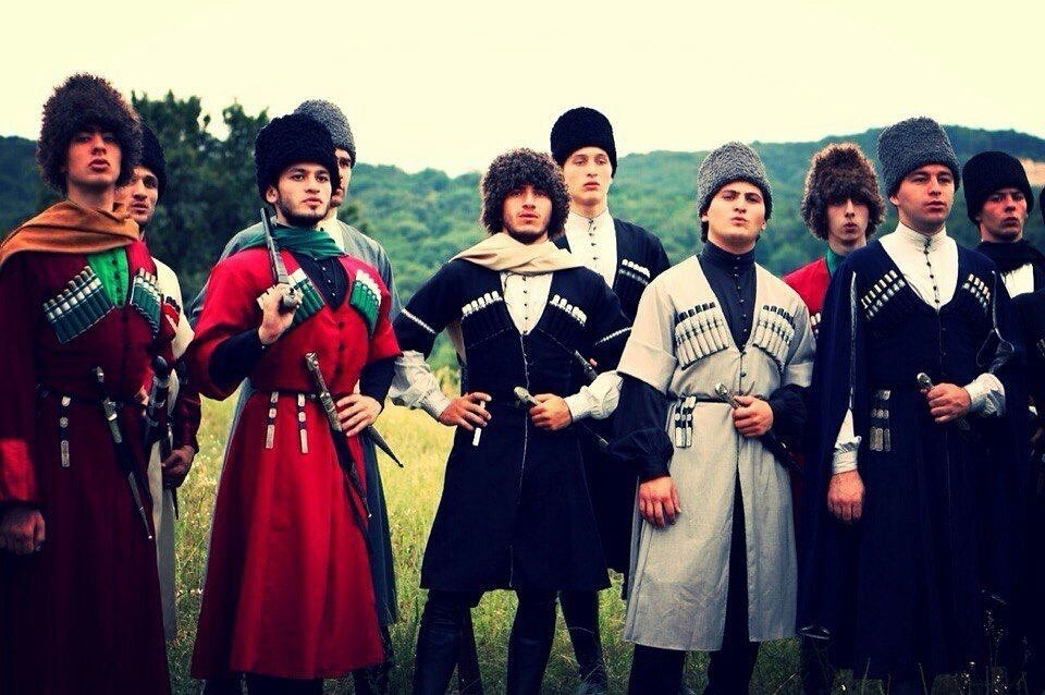 У черкесов оружие было основой их рыцарства и воинской чести.