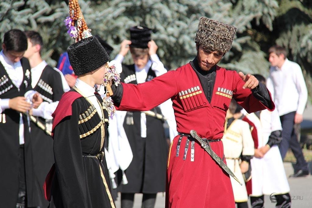 Древняя одежда черкесов дошла до наших времен