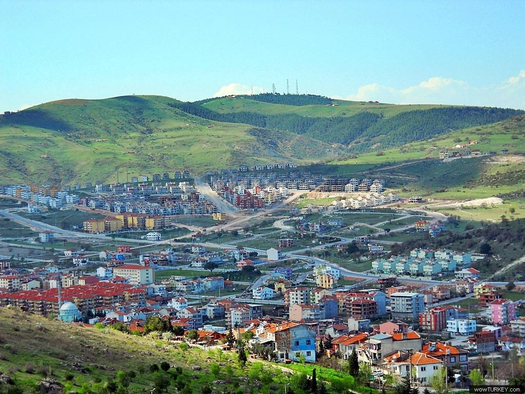 Деревни в Турции со смешанным Кавказским населением. Город Балыкесир